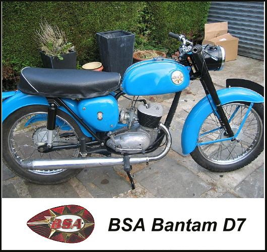 BSA Bantam D7 motorcycle