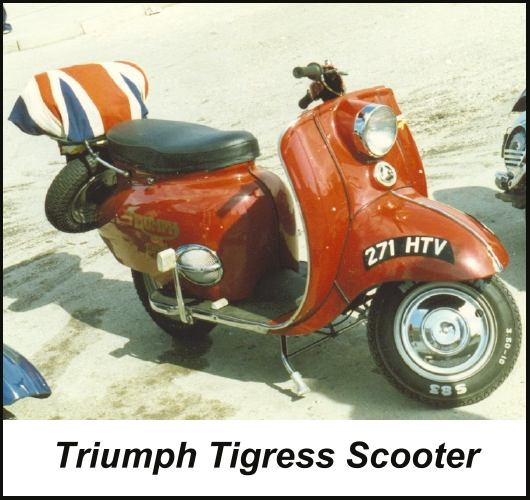 Triumph Tigress Scooter