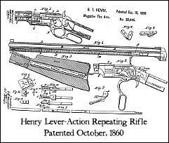 1860 Henry Lever-Action Rifle