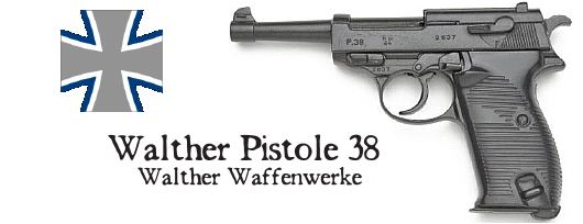 Walther P38 German Pistol
