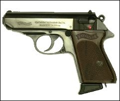Walther PPK German Pistol