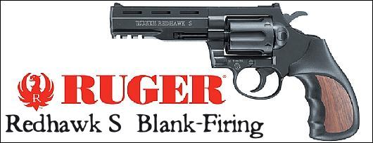 Redhawk S Blank-Firing Revolver Licensed by Ruger