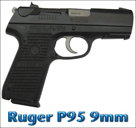 Ruger P95 9mm Semiautomatic