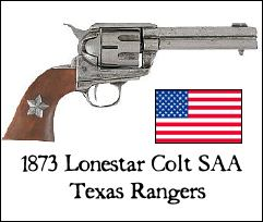 1873 Lonestar Colt Single Action Army revolver