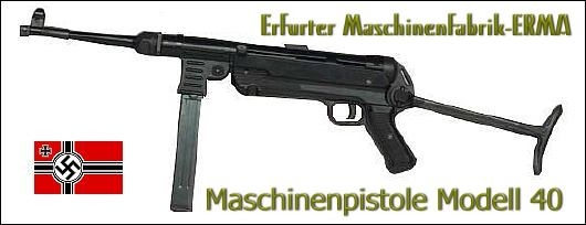 MP40 Schmeisser Machine Pistol