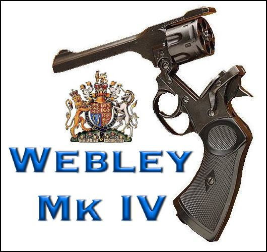 Webley Mk IV revolver top-break